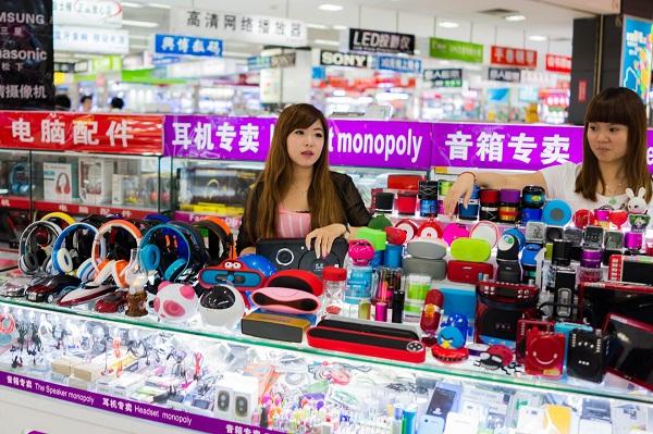 Các loại đồ điện tử tại Quảng Châu