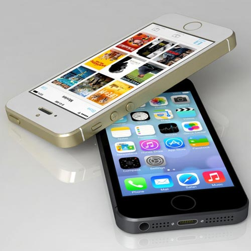 iphone 5s trang=-den
